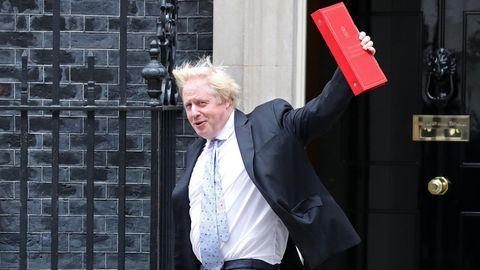 Derbritische Außenminister Boris Johnson
