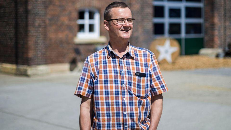Buddel-Profiteur: Bauer Ellertmann hat vor Kurzem den Anschluss an das digitale Zeitalter geschafft