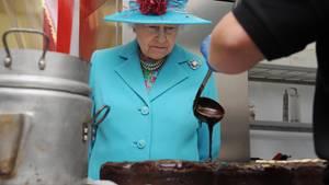 Die Queen sucht einen Konditor