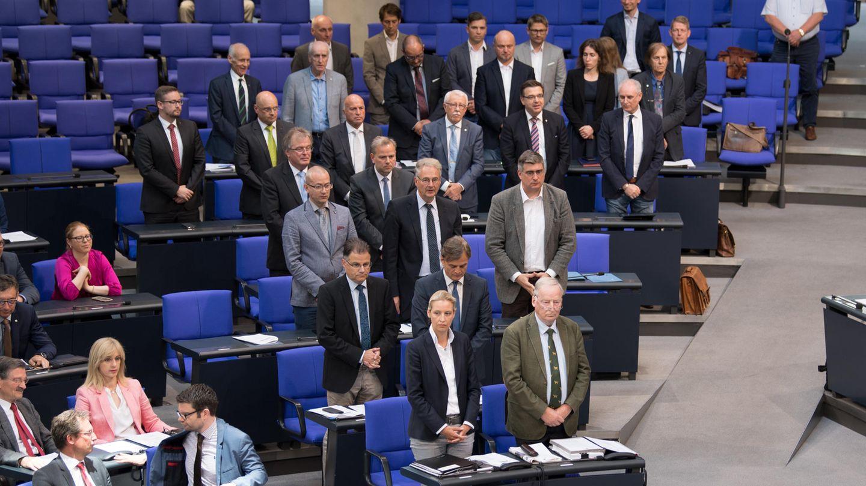 AfD-Abgeordnete benutzen eine Bundestagssitzung unangekündigt für eine Schweigeminute fürSusanna aus Wiesbaden