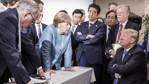 Das Symbolbild des G7-Gipfels