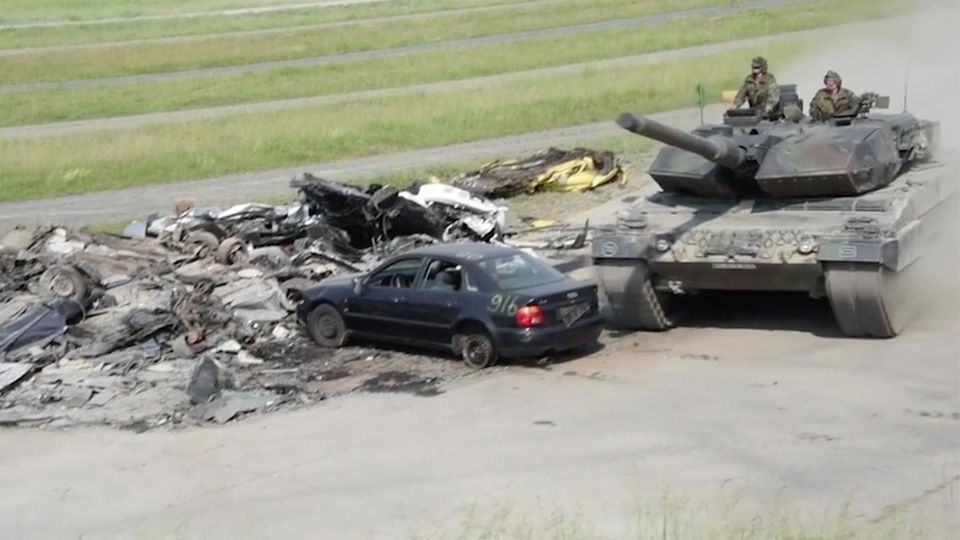 Für Deutschland geht der Leopard 2A6 bei der Strong Europe Tank Challenge an den Start.