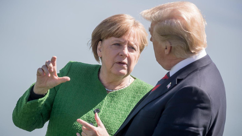 Angela Merkel hat die zurückgezogene Zustimmung von Donald Trump zur gemeinsamen Erklärung der G7-Staaten scharf kritisiert