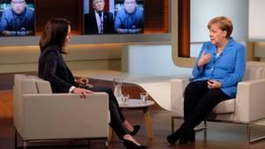 """Bundeskanzlerin Angela Merkel bei """"Anne Will"""" (ARD) über Susanna, G7 und die Bamf-Affäre"""