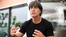 """Bundestrainer Joachim Löw: """"Wenn wir so viele kleine Fehler machen, sind wir nur eine durchschnittliche Mannschaft."""""""