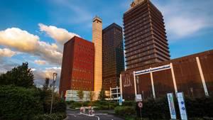 Das Gebäude des Deutschlandfunk in Köln