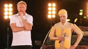 Boris Becker und Oliver Pocher