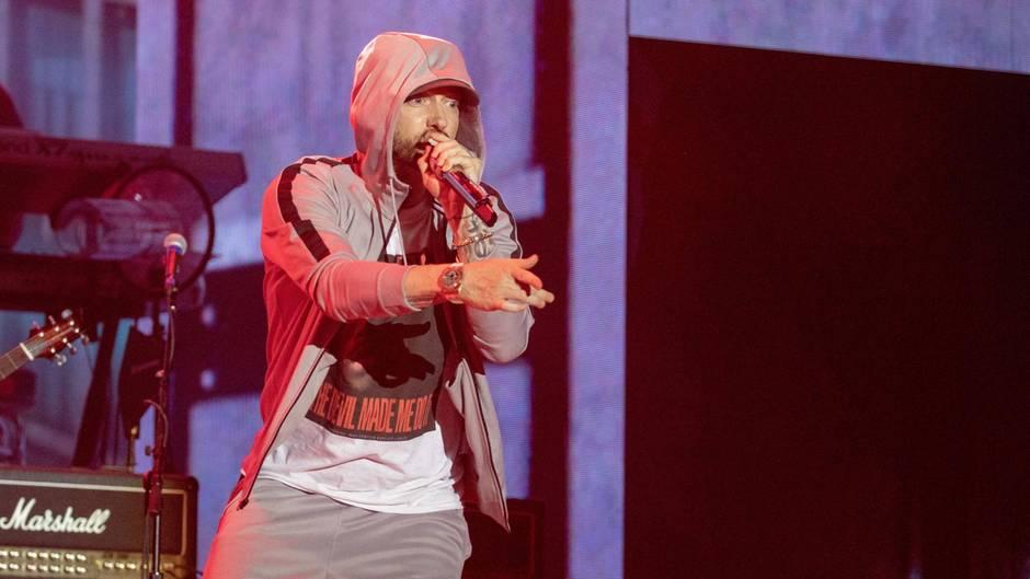 Eminem versetzt Festival-Zuschauer in Angst und Panik