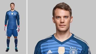 PLATZ 3 mit 7 % aller Stimmen:  Manuel Neuer (32)  Größe: 1,93 Meter  Gewicht: 92 Kilogramm
