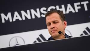 Oliver Bierhoff Sorge Özil Gündogan