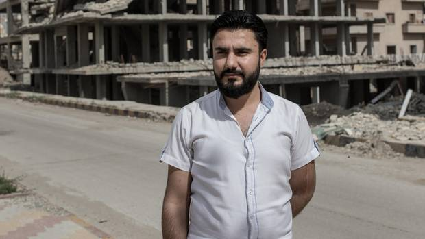 Ahmad Ibrahim, 29, Bürgermeister von Raqqa