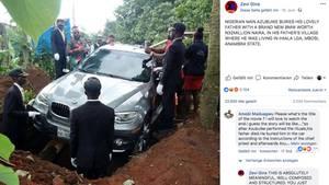 Beerdigung im BMW
