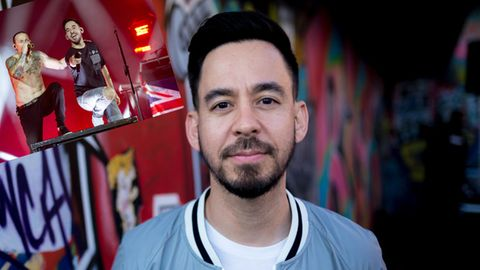 Mike Shinoda und Chester Bennington von Linkin Park