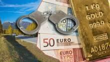 Bei dem Überfall erbeuteten die Täter fast eine Million Euro – in bar und in Gold (Symbolbild)