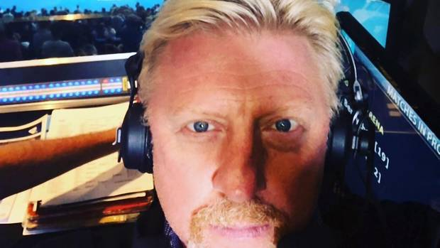 Boris Becker 2018 bei seinem Job als Tenniskommentator