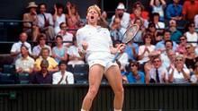 Boris Becker, hier bei einem Turnier 1989, war schon als Teenager ein Weltstar