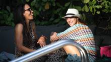 Der Klub der Ex-Frauen: Boris'Ehemalige sind untereinander befreundet. Links: Barbara (l.) und Lilly 2011 beim Urlaub in Miami