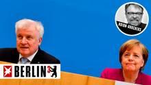 Berlin hoch 3 - Horst Seehofer versus Angela Merkel