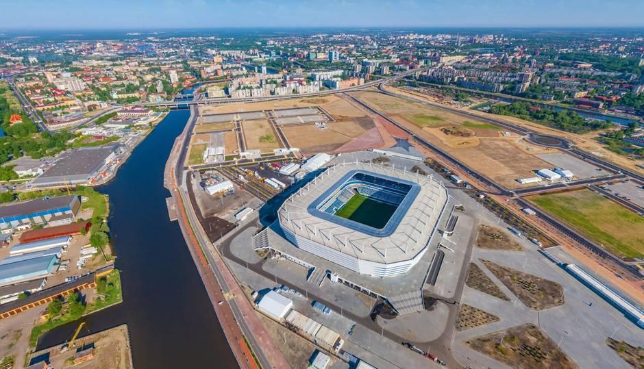 Das Stadion in Kaliningrad