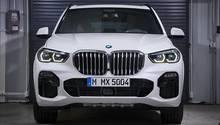 Neue Wuchtigkeit: der neue BMW X5