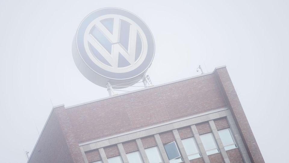 Verwaltungsgebäude der Volkswagen AG in Wolfsburg