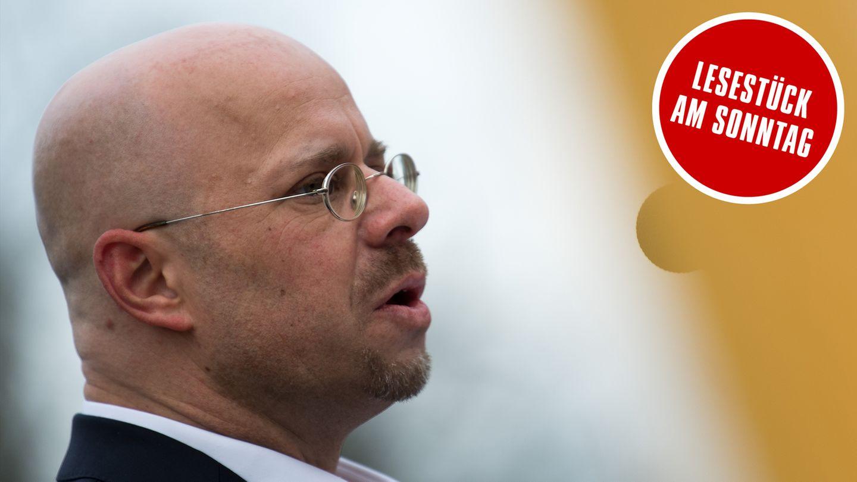 AfD-Parteivorsitz: der rechte Netzwerker Andreas Kalbitz steht bereit
