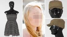 """Bei """"Aktenzeichen XY ... ungelöst"""": Melanie R. aus Berlin und ihr Kleid, die Mütze des Täters auf Aufnahmen der Polizei"""