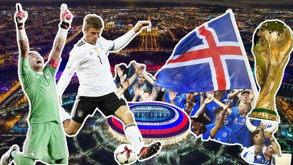 Turnier in Russland: WM kostenlos im Stream schauen: So geht's