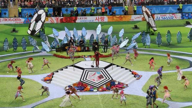 WM-Eröffnung