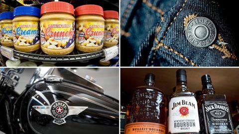 Erdnuss-Butter, Jeans, Motorräder, Whiskey - Kandidaten für Gegenzölle im Handelsstreit der EU mit den USA