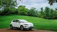 Geely Emgrand GSE 2018 - optisch keine großen Unterschiede zum Emgrand GS mit Benzinmotor