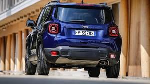 Und auch ein verändertes Heck findet sich beim Jeep Renegade 2018