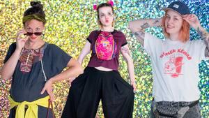 Die NEON-Redaktion präsentiert ihre Festival-Outfits