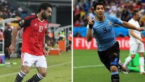 WM 2018 - Ägypten - Uruguay - Gruppe A -  Mohamed salah