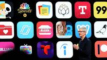 Apple-Chef Tim Cook auf der Entwicklerkonferenz WWDC