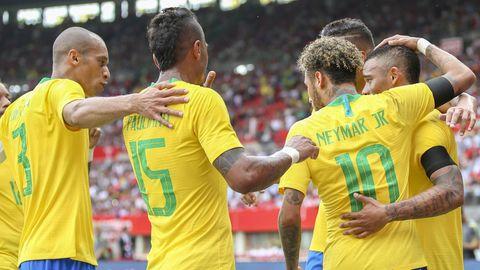Brasilien hat bei der WM 2018 das teuerste Team