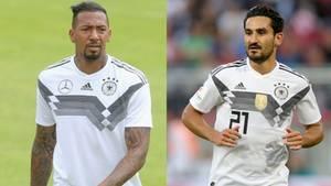 Jerome Boateng und Ilkay Gündogan - Wechselgerüchte stören die Vorbereitung