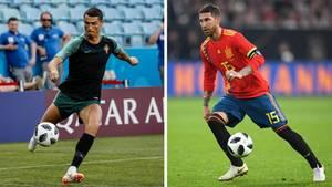 WM 2018 - Portugal - Spanien - Cristiano Ronaldo