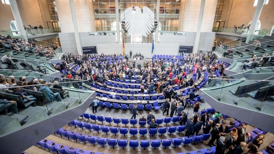 Die Bundestagsabgeordneten stimmten bereits über eine Neuregelung des Familiennachzugs ab