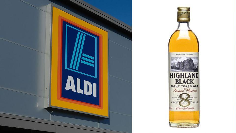 Mit diesem Whisky gewann Aldi in Großbritannien eine Goldmedaille