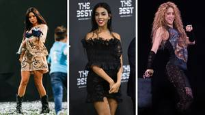 WM 2018 Pilar Rubio, Georgina Rodriguez, Shakira