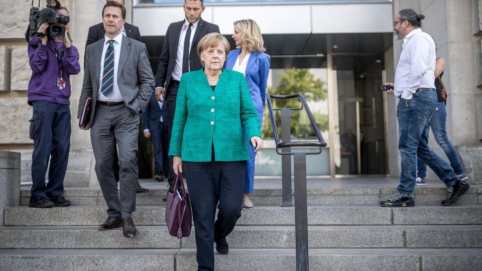 Angela Merkel Schicksalstage