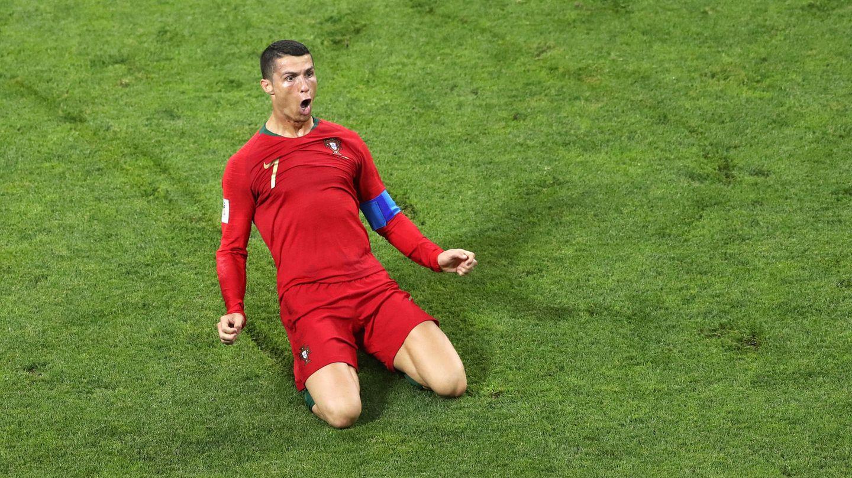 Cristiano Ronaldo traf beim WM-Auftakt von Portugal und Spanien gleich dreifach
