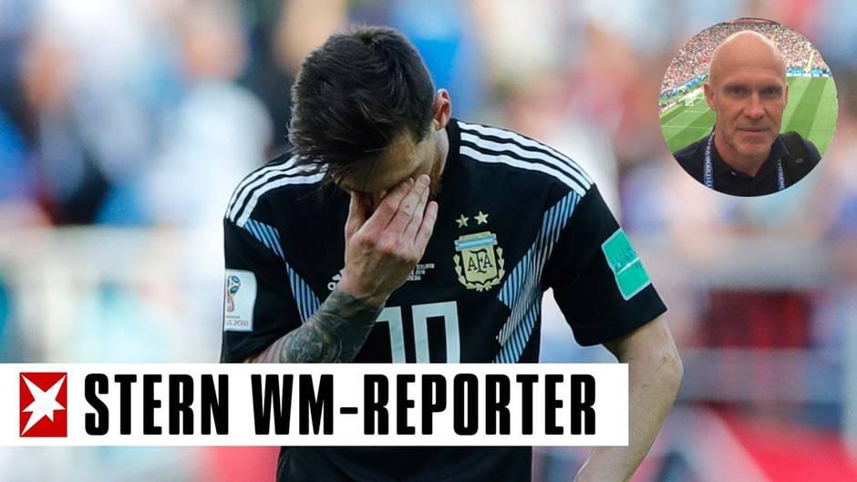 Stern-Reporter Lionel Messi