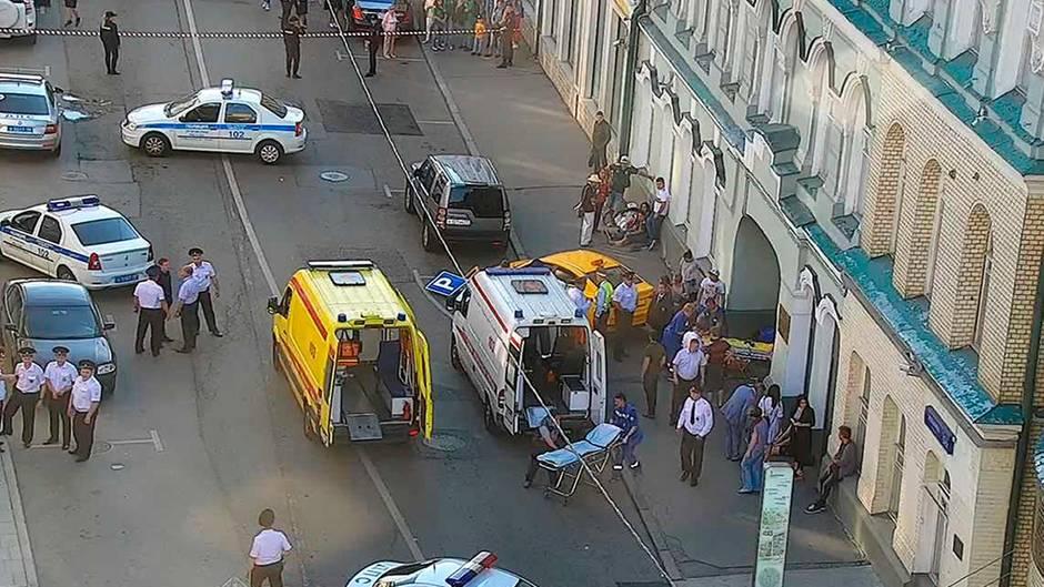 Moskau Unfall