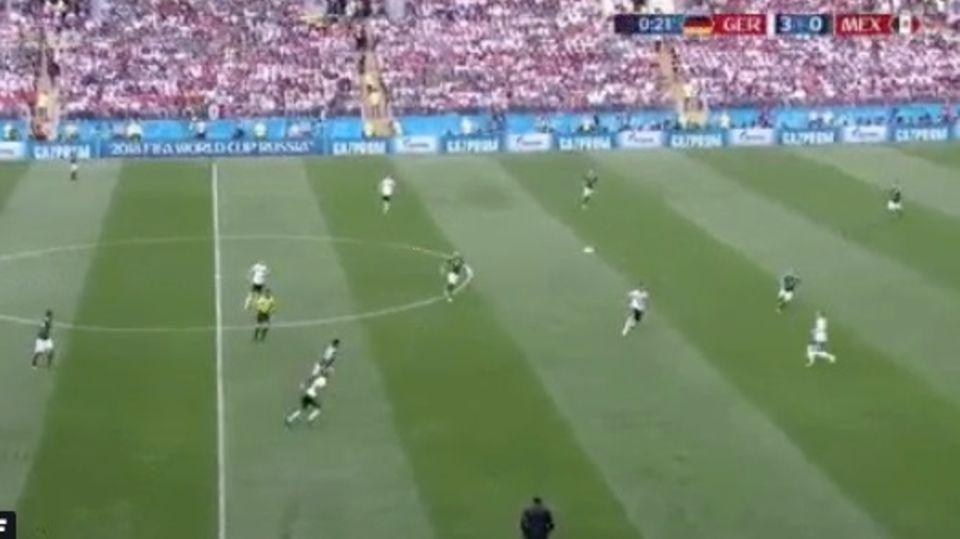 ZDF zeigt 3:0-Führung für Deutschland an