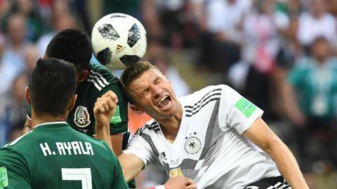Thomas Müller war im Spiel gegen Mexiko kaum zu sehen