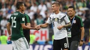 Toni Kroos nach dem Spiel Deutschland-Mexiko