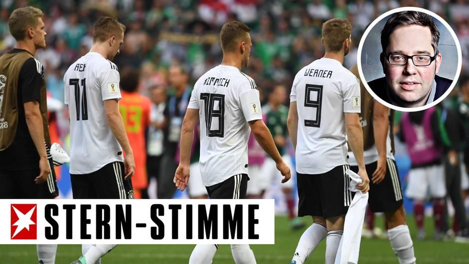 Die deutsche Mannschaft zeigte beim WM-Auftakt gegen Mexiko, dass es ihr an Teamgeist fehlt