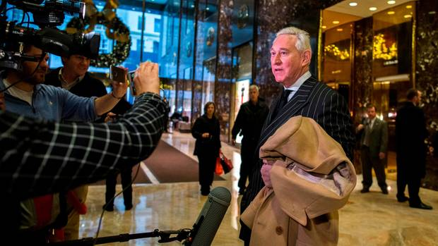 Donald-Trump-Berater Roger Stone